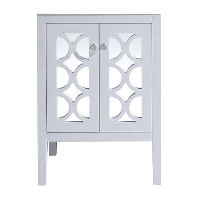 Mediterraneo 24 Single Bathroom Vanity Base Base Finish: White