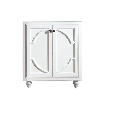 Odyssey 30 Single Bathroom Vanity Base Base Finish: White
