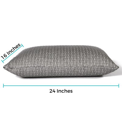 Phase Change Cooling Foam Pillow Size: Standard