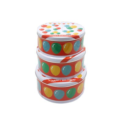 3-Piece Tin Set E322-HB