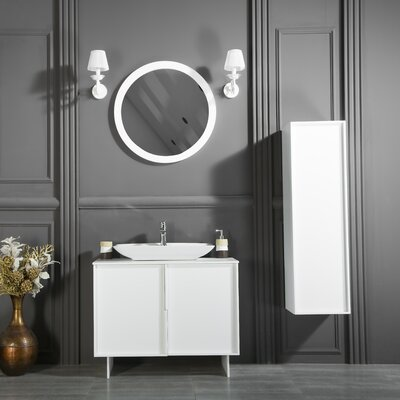 Carrillo Single Bathroom Vanity Set