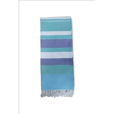 Lapeer Striped Turkish Cotton Bath Towel