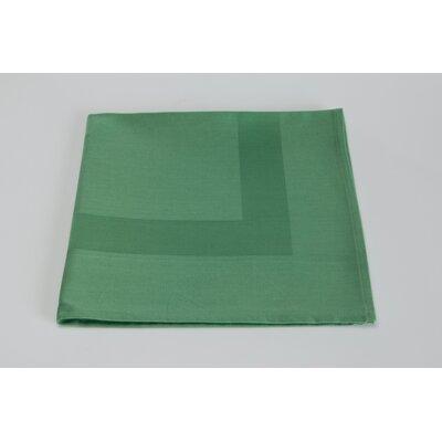 Orrville Satin Band Cotton Napkin (Set of 4) Color: Seafoam Green