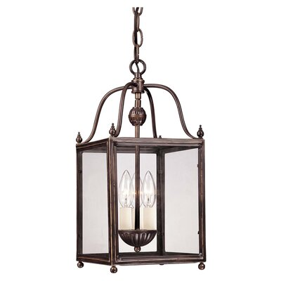 Crabapple 3-Light Foyer Pendant