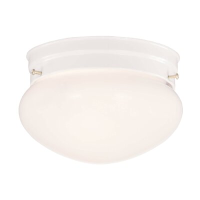 Creel 1-Light Flush Mount Size: 7