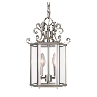 Eaton 2-Light Foyer Pendant