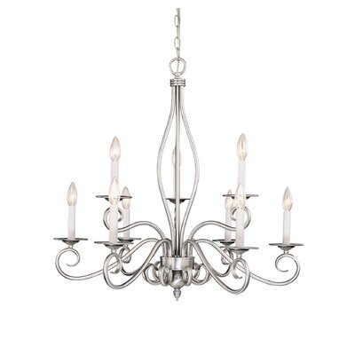 Hibbitts 9-Light Candle-Style Chandelier