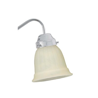 Busch 5.38 Glass Bell Ceiling Fan Fitter Shade