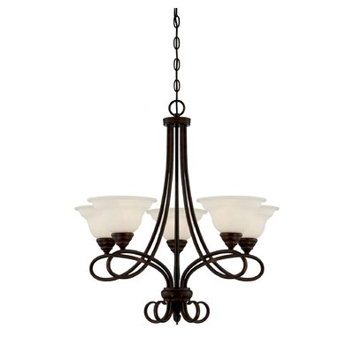 Oxford 5-Light Shaded Chandelier