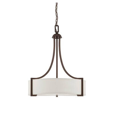 Ellerman 3-Light Pendant Finish: English Bronze