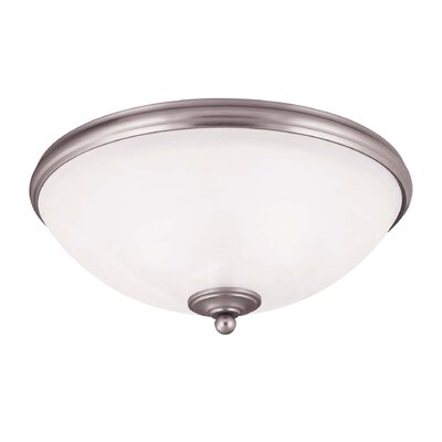 Nan 3-Light Flush Mount Finish: Pewter