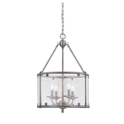 Foxcroft 4-Light Drum Pendant