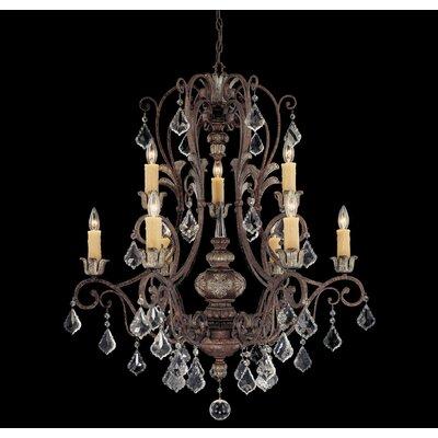 Mariposa 9-Light Crystal Chandelier