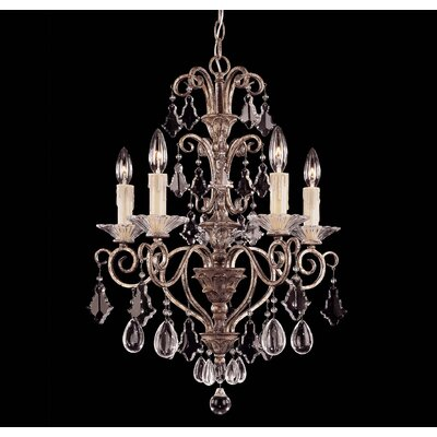 Antoinette 5-Light Crystal Chandelier 1-1397-5-256
