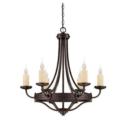 Britt 6-Light Candle-Style Chandelier