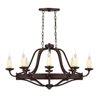 Britt 8-Light Candle-Style Chandelier