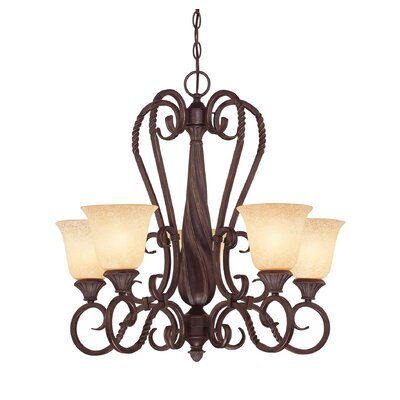 Bellingham 5-Light Shaded Chandelier