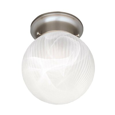 Mcgowen 6 Flush Mount Finish: Satin Nickel