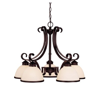 Willoughby 5-Light Shaded Chandelier