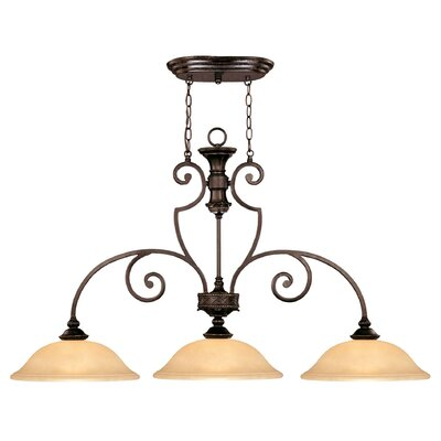 Berrian 3-Light Kitchen Pendant