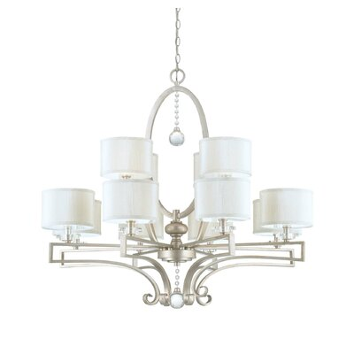 Beasley 12-Light Drum Chandelier