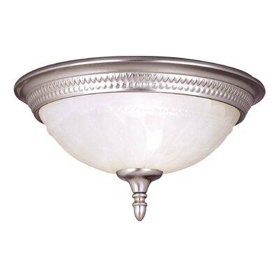 Eaton 1-Light Flush Mount Size: 11 Width