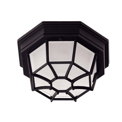 Polanco 1-Light Flush Mount Size: Small