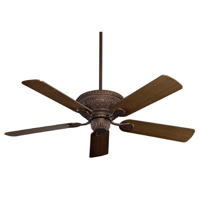 52 Yvonne  5-Blade Ceiling Fan Finish: New Tortoise Shell