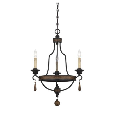 Kelsey 3-Light Candle-Style Chandelier