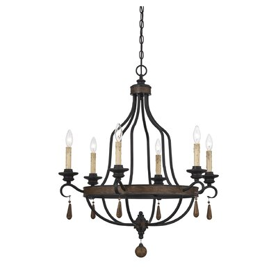 Kelsey 6-Light Candle-Style Chandelier
