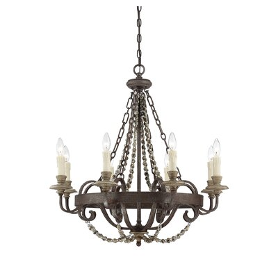 Mallory 8-Light Candle-Style Chandelier