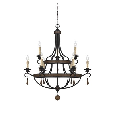 Dowling 9-Light Candle-Style Chandelier