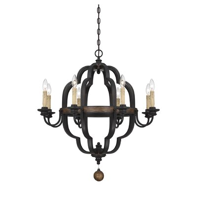 Kelsey 8-Light Candle-Style Chandelier
