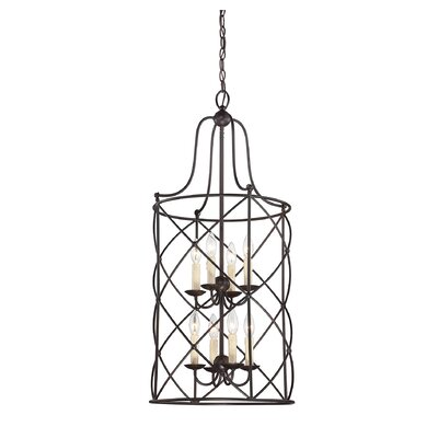 Delia 8-Light Foyer Pendant