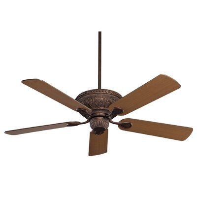 52 Maddison 5-Blade Ceiling Fan Color: New Tortoise Shell