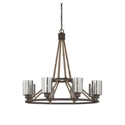 Maverick 8-Light Shaded Chandelier
