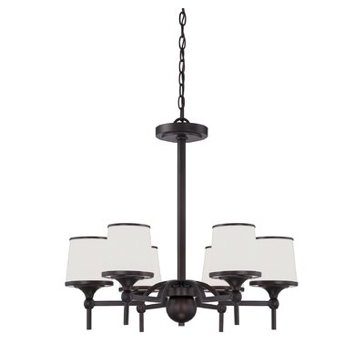 Camacho 6-Light Shaded Chandelier
