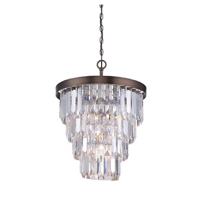 Dyanna 4-Light Crystal Chandelier