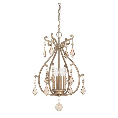 Rothchild 4-Light Foyer Pendant