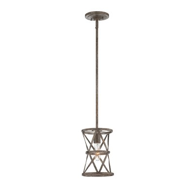 Rail 1-Light Mini Pendant