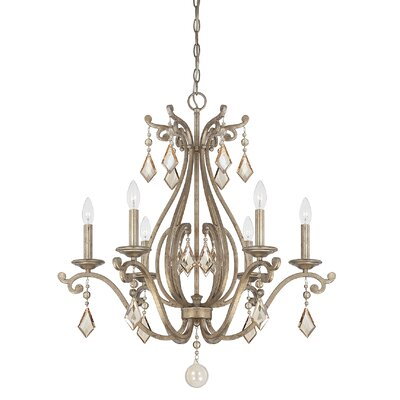 Rothchild 6-Light Candle-Style Chandelier