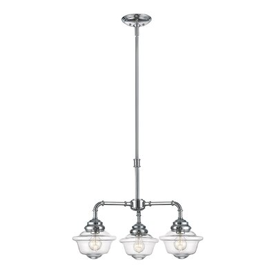 Margo 3-Light Shaded Chandelier