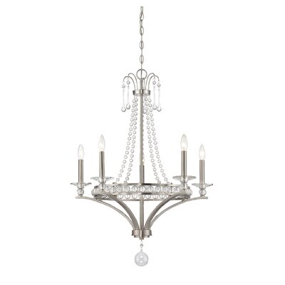 Dore 5-Light Candle-Style Chandelier