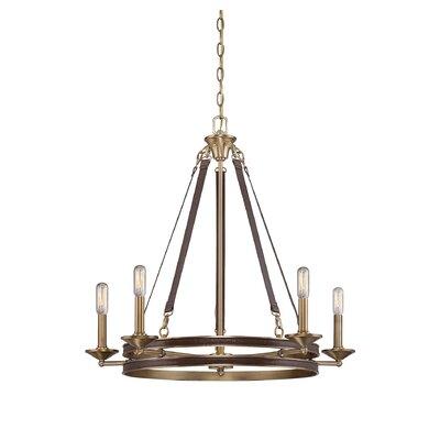 Prasann 5-Light Candle-Style Chandelier
