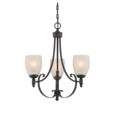Vanhorne 3-Light Shaded Chandelier