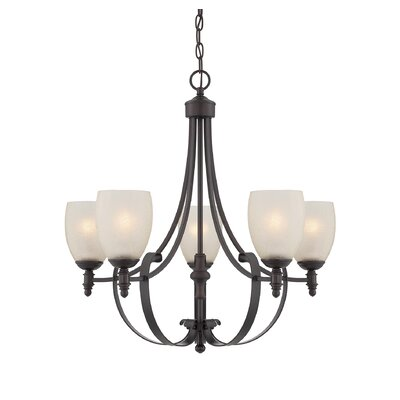 Vanhorne 5-Light Shaded Chandelier