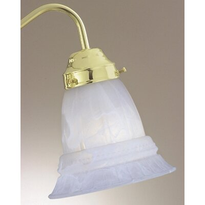 Pour Le Bain 5.5 Glass Bell Ceiling Fan Fitter Shade