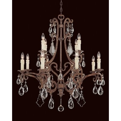 Provenciale 12-Light Crystal Chandelier
