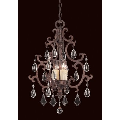 Marina Way 4-Light Crystal Chandelier