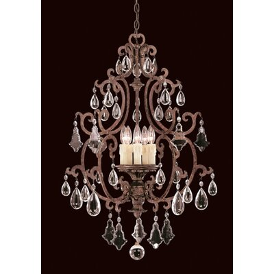 Marina Way 5-Light Crystal Chandelier
